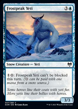 Frostpeak Yeti