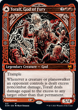 Showcase Toralf, God of Fury