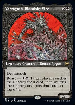 Showcase Varragoth, Bloodsky Sire