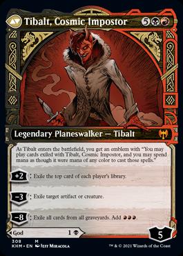 Showcase Tibalt, Cosmic Impostor