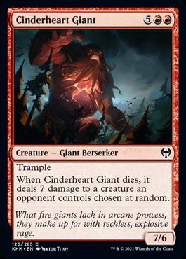 Cinderheart Giant
