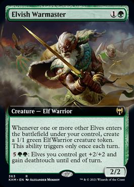 Elvish Warmaster #363