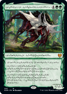 Phyrexian Vorinclex, Monstrous Raider