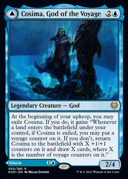 Cosima, God of the Voyage