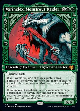 Showcase Vorinclex, Monstrous Raider