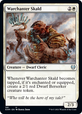 Warchanter Skald