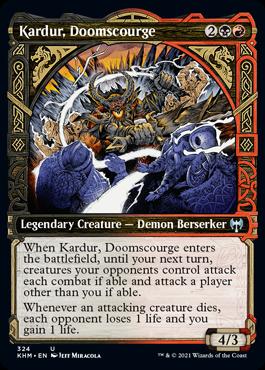 Showcase Kardur, Doomscourge