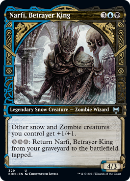 Showcase Narfi, Betrayer King