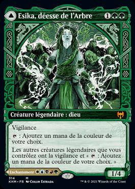 Esika, déesse de l'Arbre