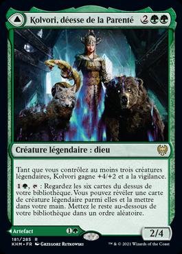 Kolvori, déesse de la Parenté
