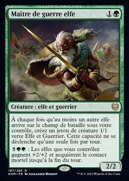 Maître de guerre elfe