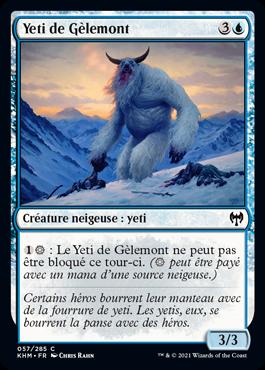 Yeti de Gèlemont