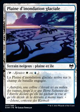 Plaine d'inondation glaciale