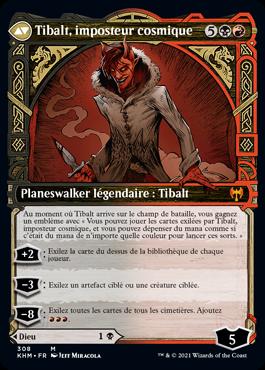 Tibalt, imposteur cosmique