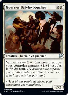 Guerrier Bat-le-bouclier