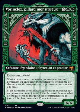 Vorinclex, pillard monstrueux