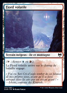 Fjord volatile