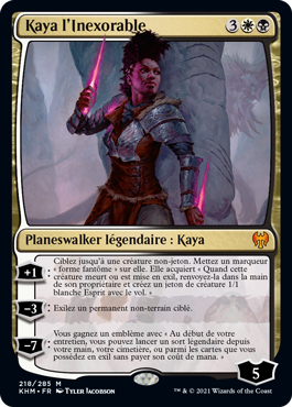 Kaya l'Inexorable