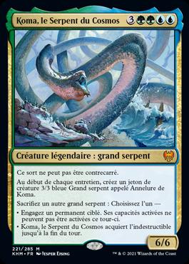 Koma, le Serpent du Cosmos