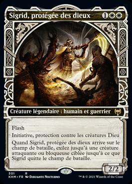 Sigrid, protégée des dieux