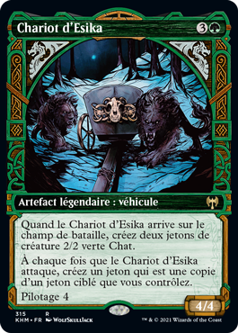 Chariot d'Esika