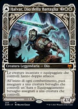 Showcase Halvar, God of Battle
