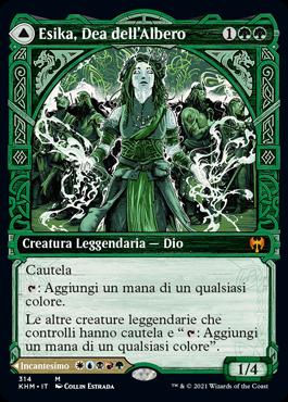 Esika, Dea dell'Albero