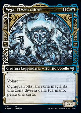Vega, l'Osservatore