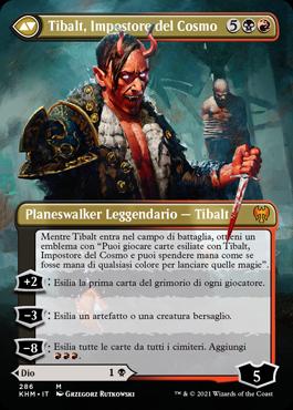 Tibalt, Impostore del Cosmo