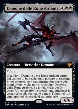 Demone delle Rune Ardenti