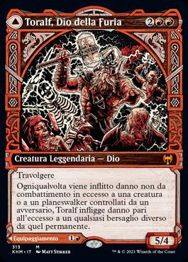 Toralf, Dio della Furia