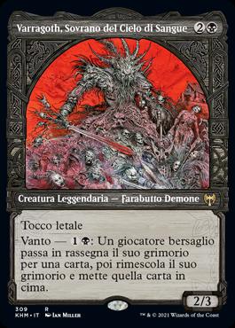 Varragoth, Sovrano del Cielo di Sangue