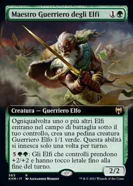 Maestro Guerriero degli Elfi