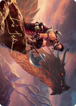 Dragonkin Berserker Art Card