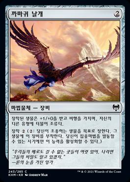 까마귀 날개