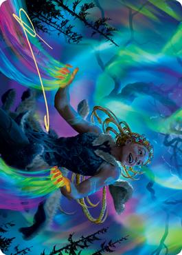 Esika, God of the Tree Art Card
