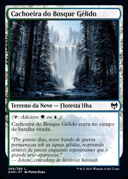 Cachoeira do Bosque Gélido
