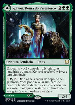 Kolvori, Deusa do Parentesco