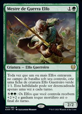 Mestre de Guerra Elfo