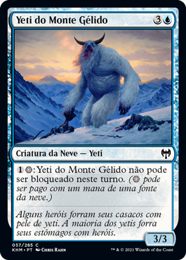 Yeti do Monte Gélido