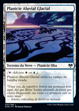 Planície Aluvial Glacial