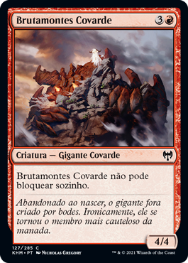 Brutamontes Covarde