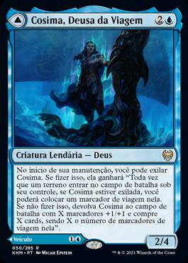 Cosima, Deusa da Viagem