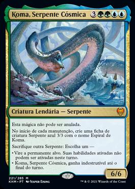 Koma, Serpente Cósmica