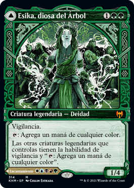 Esika, diosa del Árbol