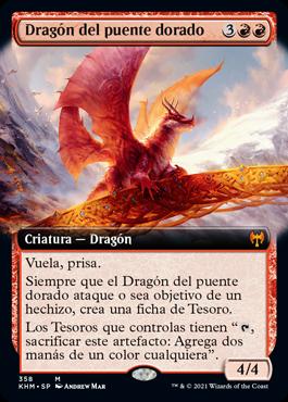Dragón del puente dorado