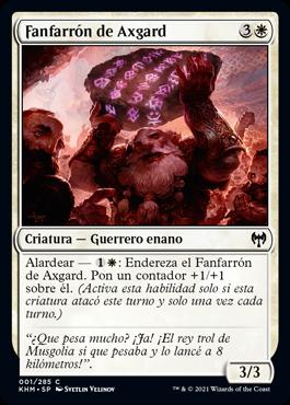 Fanfarrón de Axgard