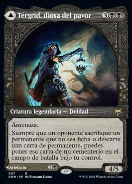 Térgrid, diosa del pavor