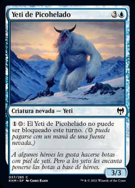 Yeti de Picohelado