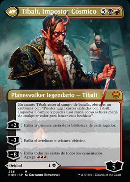 Tibalt, Impostor Cósmico